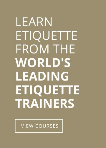Etiquette Training View Courses